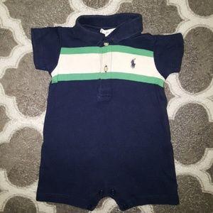 Ralph Lauren polo baby boy romper size 0-3 months